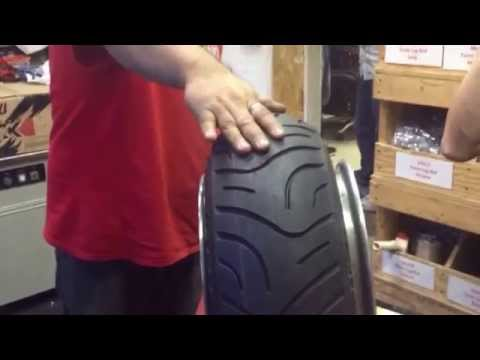 Stretching Tire on a Honda Ruckus Fatty Wheel