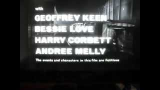 """""""Nowhere to Go"""" (1958) opening credits"""