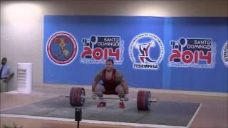 2014 Pan American Championships 105+ Category