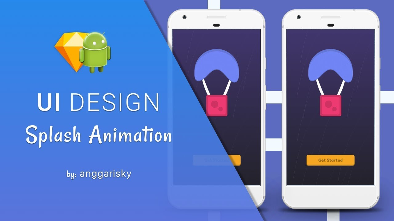 Android Studio Tutorial - Splash Screen Animation