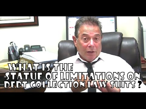 What Is The Statute Of Limitations On Debt Collection Law Suits Ca Consumer Attorney Joe