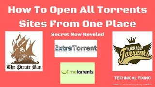 How To Open Banned Torrents Sites India 100% Working|Extratorrent| Pirates Bay|Kickass| Limetorrent|