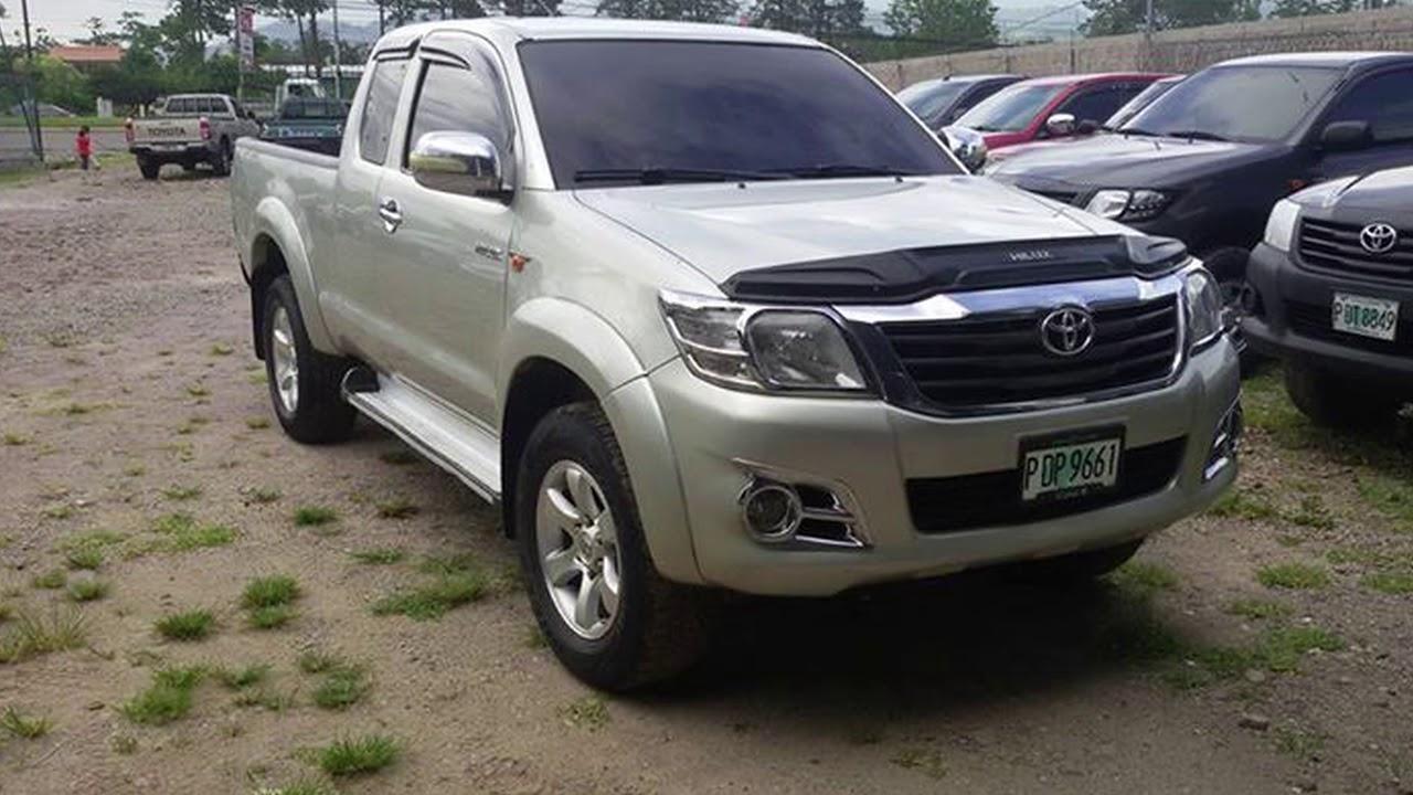Toyota Hilux 4x4 2013 En Venta Honduras