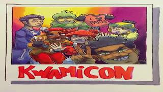 KWAMICON (Miraculous Ladybug Drawings)