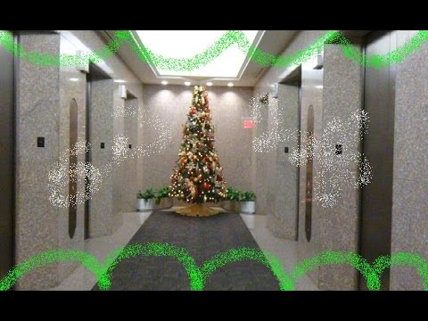 Christmas View Elevator Ride At 4 Houston Center In Downtown