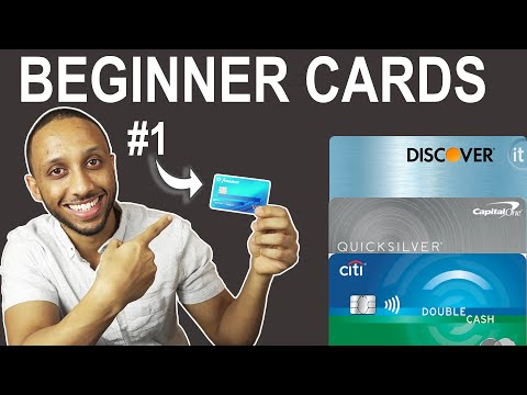 Top 5 BEST Credit Cards For Beginners (2019)