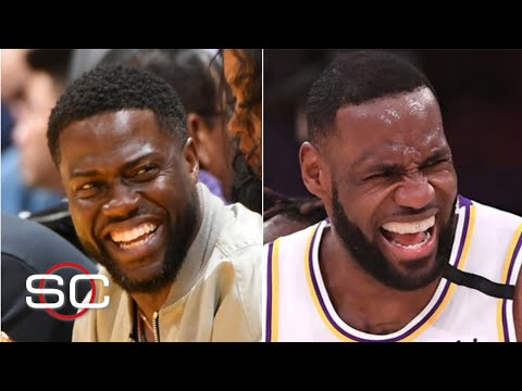 You can't do that to Kevin Hart! - Stephen A. roasts LeBron James | No You Didn't! | SportsCenter