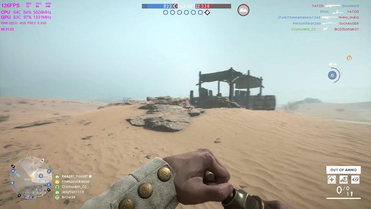 Battlefield 1 Behemoth Armored train taking down