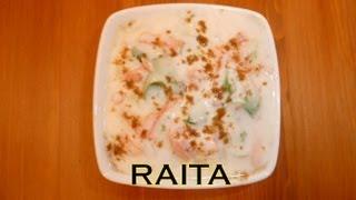 Raita - Indian Yogurt Salad