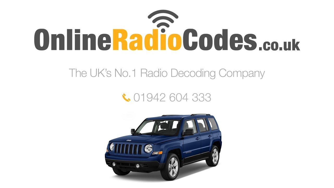 🚗 Jeep Cherokee Radio Code Stereo Codes PIN Unlock