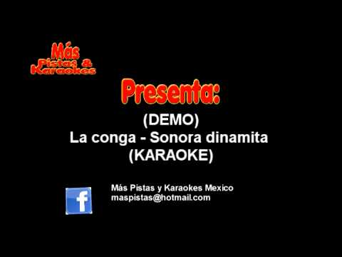 La conga - Sonora dinamita (Karaoke) DEMO