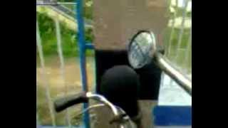 Big Low Pitched Cycle Rickshaw Bulb Horn 1 with Large Loop - 1 (one) blast