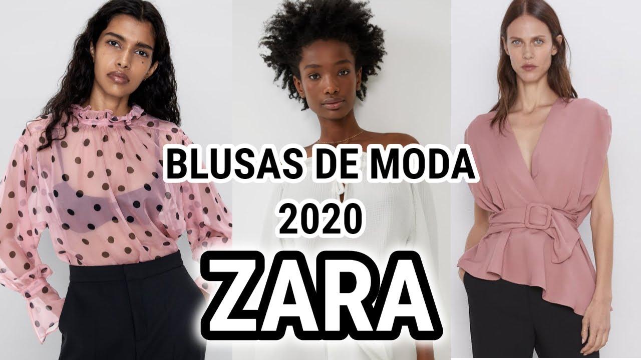 Cilios contar tirano  BLUSAS de moda 2020 ZARA #20 / Fashion Love - YouTube