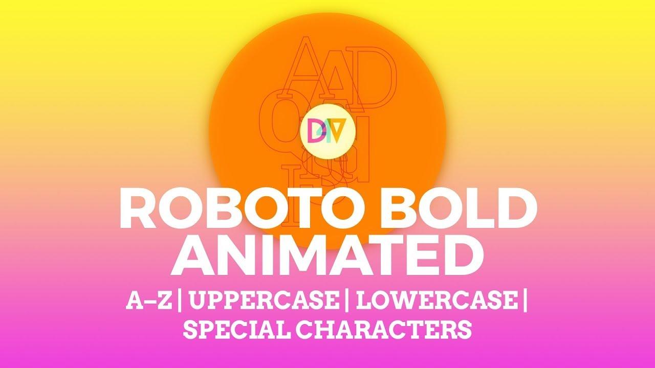 Out now animated svg alphabet kit roboto bold outlines tutorial animated svg alphabet kit roboto bold outlines tutorial baditri Images