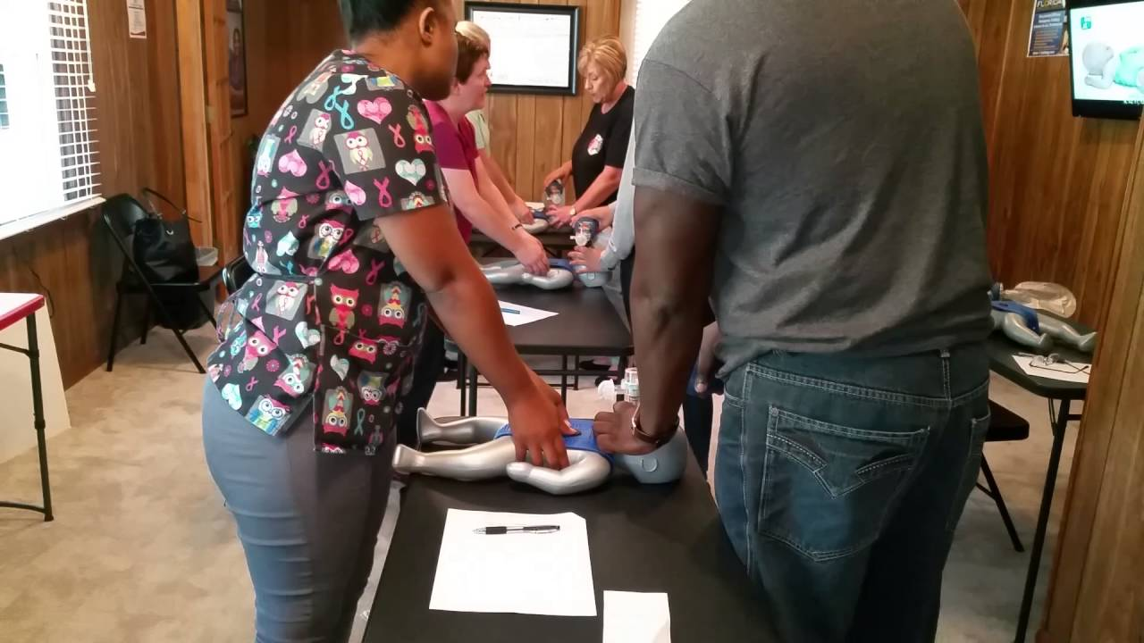 Child And Infant Cpr Basic Life Support Bls Classes In