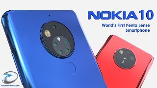 Nokia 10 Introduction,World's First Penta Lense Camera Smartphone |TechConfigurations