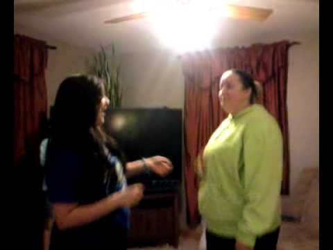 Haley Getting Knocked Out - Part 1