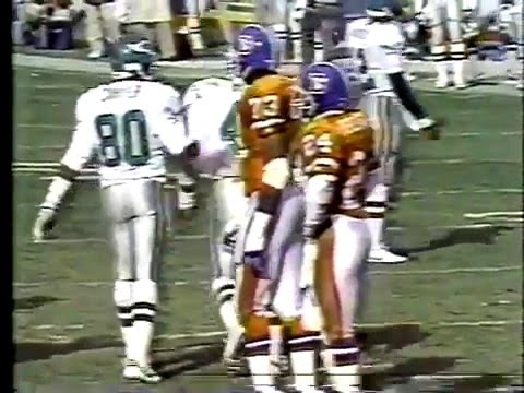 1989 Week 8 Eagles at Denver clip1