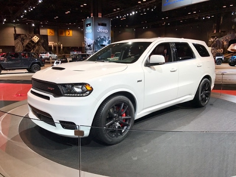 2018 dodge srt durango. contemporary durango 2018 dodge durango srt u2013 redline first look 2017 chicago auto show inside dodge srt durango