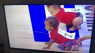 Baby race - Clippers vs Lakers Summer League