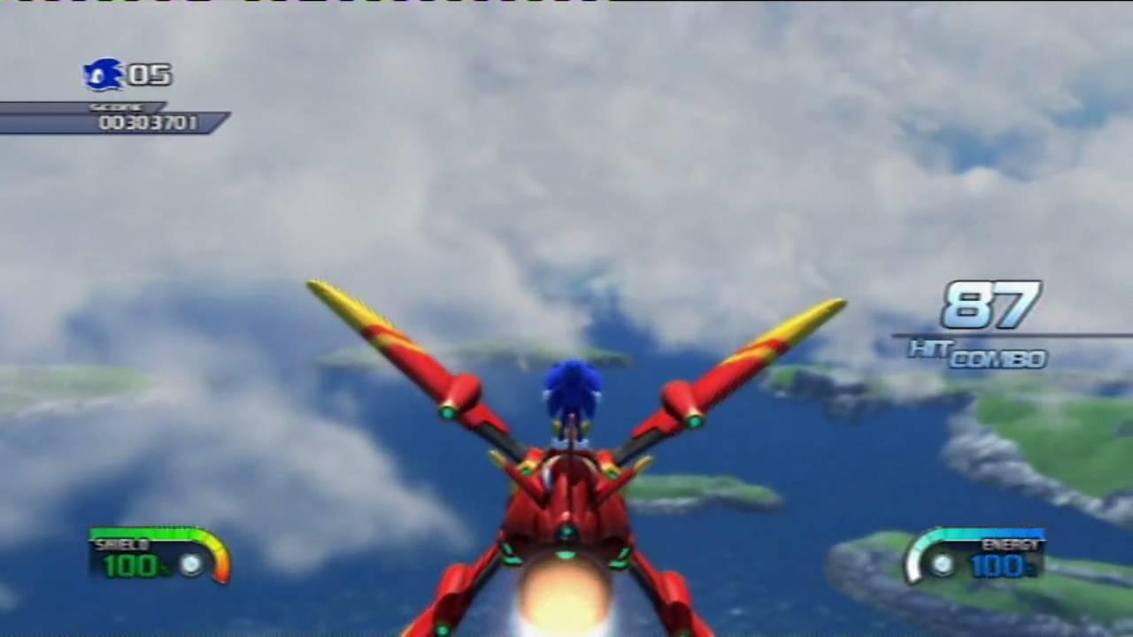 Blue Tornado Sonic Sonic Unleashed Tornado