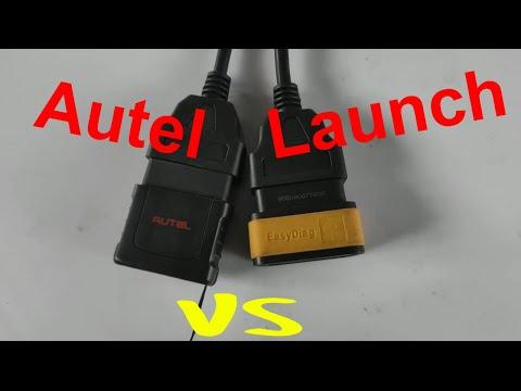 Autel Vs Launch ч1  Chevrolet Cruze