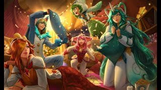 If league of legends Champions had Facebook #84 (Pajama Party)