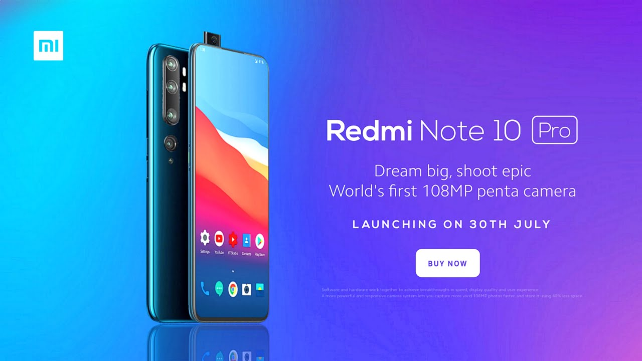 Redmi Note 10 Pro - 5G, India Launch Date, Price, Specifications