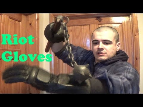 UK Police Public Order/Riot Gloves Test and Review