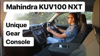 Mahindra KUV 100 NXT - Unique Gear Console (Hindi + English)