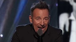 Bruce Springsteen Inducts the E Street Band at the 2014 Hall of Fame Induction Ceremony