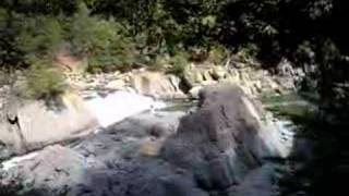 Kayaking the waterfalls in Plumas County