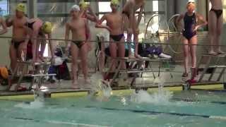 103年第七屆世清盃游泳錦標賽國小高年級200公尺男女混合自由式接力