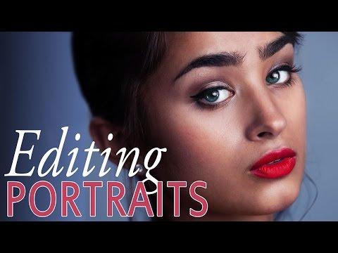 Editing Portraits in Photoshop (Glamour & Fashion)