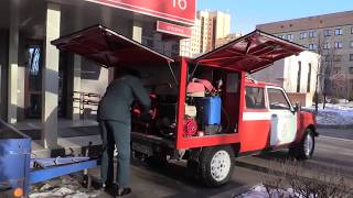 Пожарная ''Нива'' на базе Lada 4x4