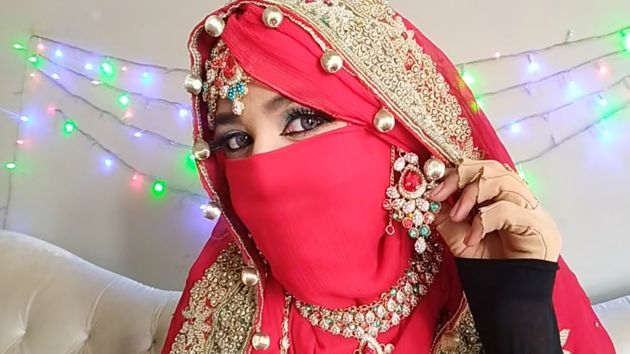 Muslim wedding niqab