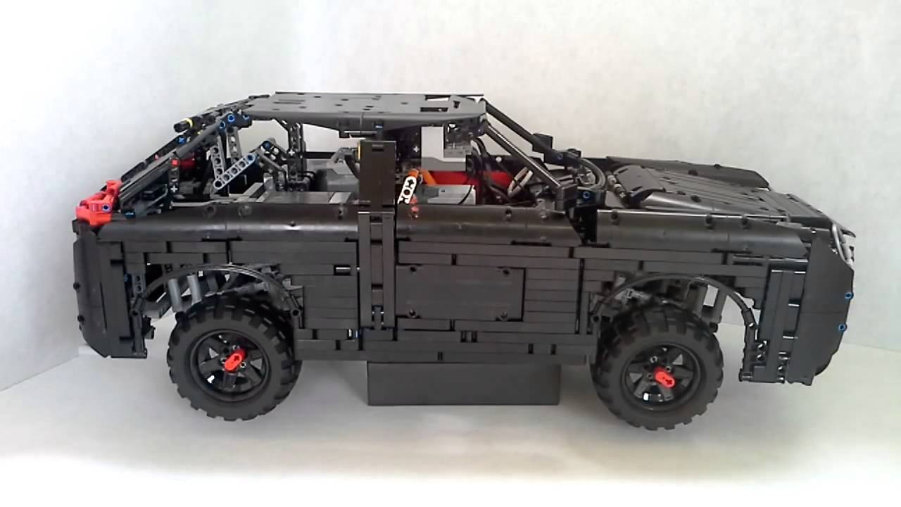 'LEGO Technic' Porsche Cayenne - YouTube