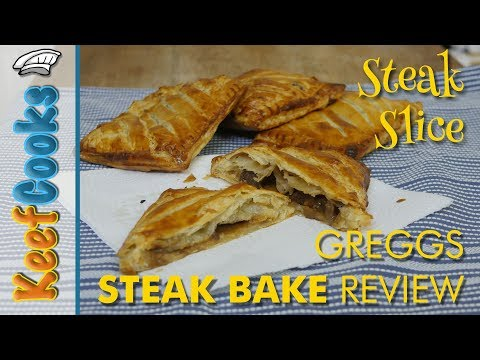 Steak Slice Recipe | Greggs Steak Bake Review and Copycat Recipe