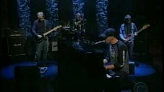 Coldplay Trouble 2001-06-27 David Letterman Show