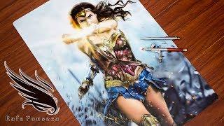 Painting Wonder Woman - Airbrush / Rafa Fonseca