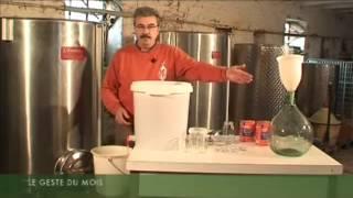 methode de fabrication du cidre et du vin de pomme