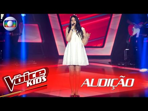 """Micaella Marinho canta """"Além do Arco-Íris"""", na Audição – The Voice Kids Brasil   2ª Temporada"""