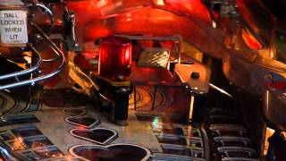 The Machine Pinball LED Mod Spinner (Bride of Pinbot)