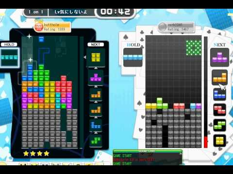Tetris Online Japan vs random player