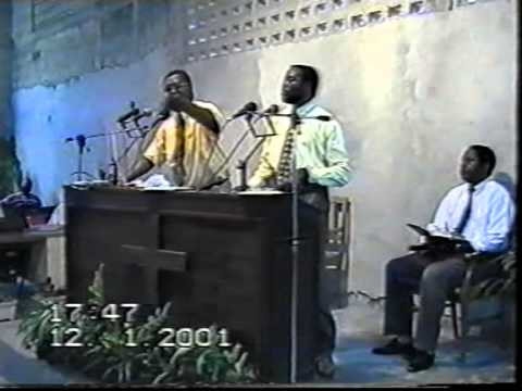 Frère Firmin B au C.M.L Kinshasa  R.D.Kongo Le 12.01.2001 Partie 1