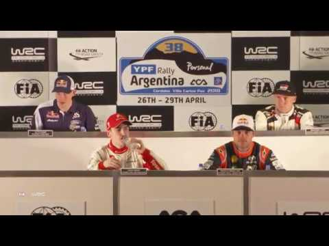 WRC - YPF Rally Argentina 2018: Pre-Event Press Conference