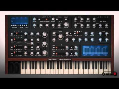 Introduction To Tone2 Saurus Analog Synthesizer