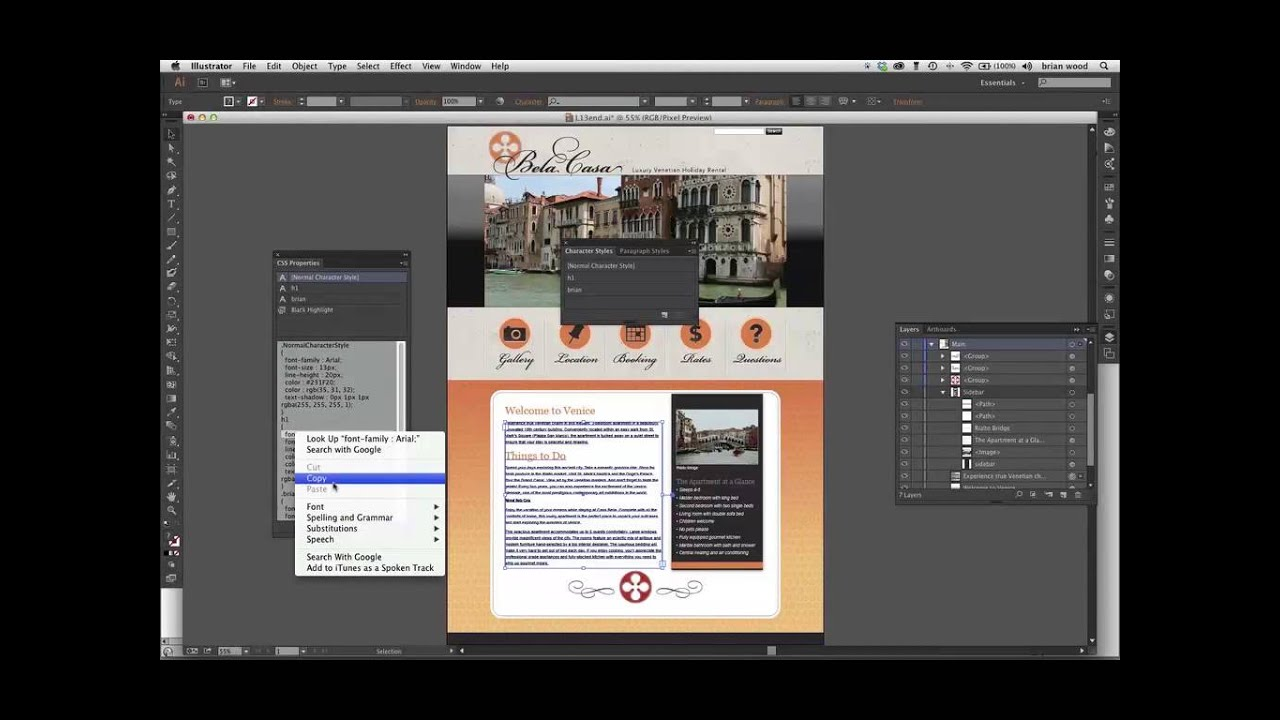 Create CSS from Illustrator CC (NEW) - YouTube