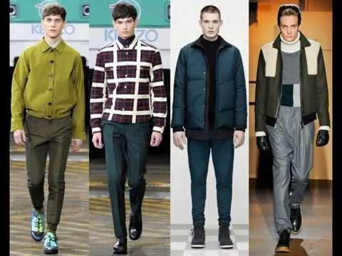 Мужские куртки из кожи и текстиля