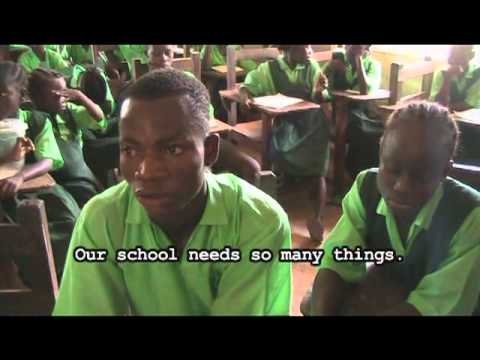 Education Builds a Nation - (Library for Liberia)